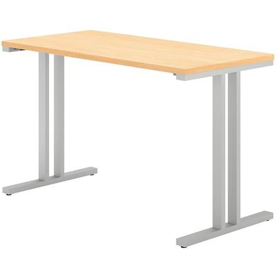 "400 Series 48""W x 24""D Training Table in Natural Maple"