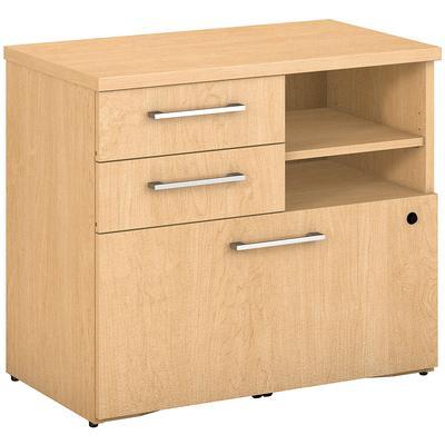 """400 Series 30""""W Piler Filer Cabinet in Natural Maple"""