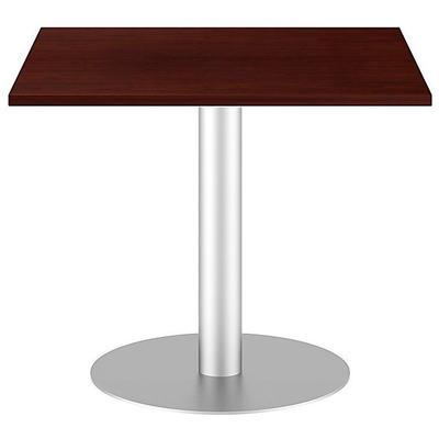 "36"" Square Conference Table Kit - Metal Disc Base"