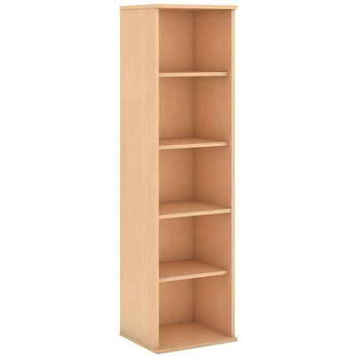 "66"" 5 Shelf Narrow Bookcase"