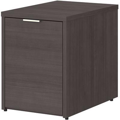 Jamestown Small Storage Cabinet with Door - Storm Gray