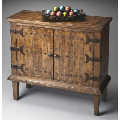 Mountain Lodge Caledonia Rustic Console Cabinet
