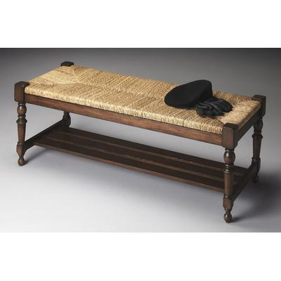 Heritage Ravello Woven Wicker Bench