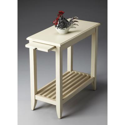 Masterpiece Irvine Cottage White Chairside Table