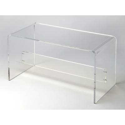 Butler Loft Crystal Clear Acrylic Bench