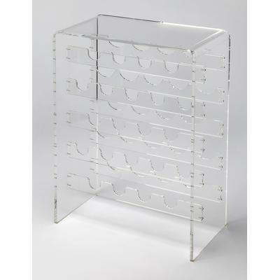 Butler Loft Crystal Clear Acrylic Wine Rack