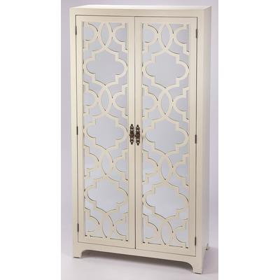 Masterpiece Morjanna White Tall Cabinet