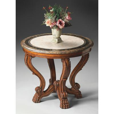 Heritage Mabel Fossil Stone Foyer Table