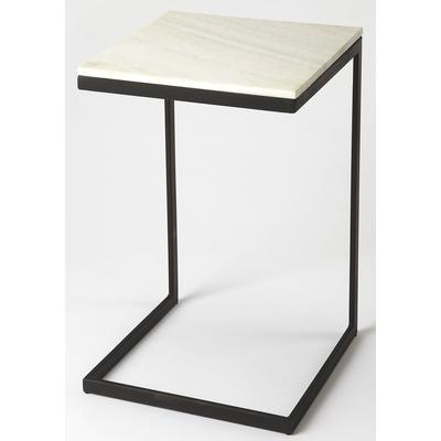 Butler Loft Lawler Black Metal And Marble End Table
