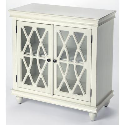 Masterpiece Lansing Off White Accent Cabinet