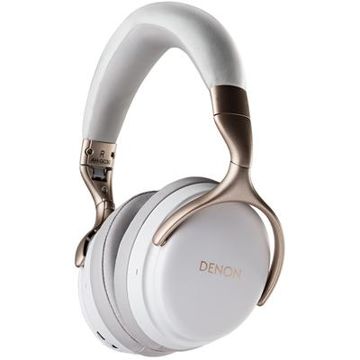 Wireless Noise Cancelling Over-Ear Headphones - White