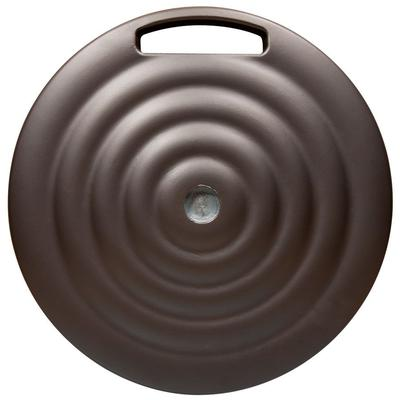 Monaco Round Commercial/Residential Umbrella Base with Wheels and Handle