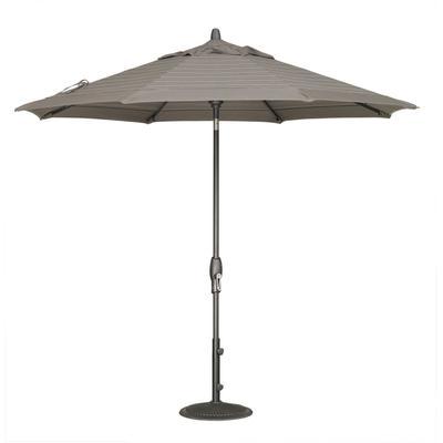 9' Auto Tilt Umbrella - Anthracite
