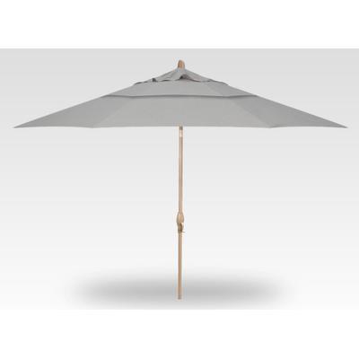 11' Auto Tilt Umbrella - Champagne
