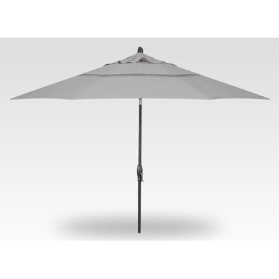 11' Auto Tilt Umbrella - Anthracite
