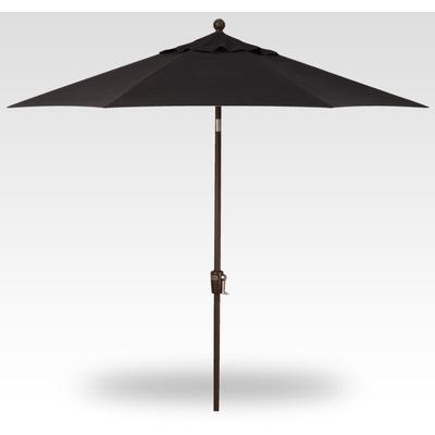 9' Push Button Tilt Umbrella - Bronze