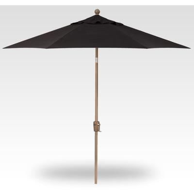 9' Push Button Tilt Umbrella - Champagne