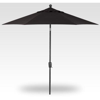 9' Push Button Tilt Umbrella - Anthracite