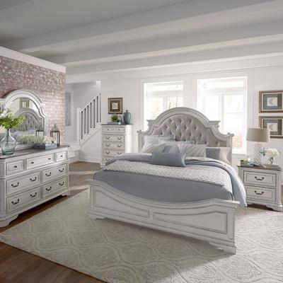 Magnolia Manor 5-Piece Queen Upholstered Bedroom Set