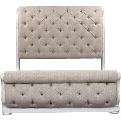 Magnolia Manor Queen Upholstered Sleigh Bed