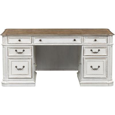 Magnolia Manor Jr. Executive Complete Desk