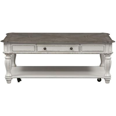 Magnolia Manor Rectasngular Cocktail Table - Antique White