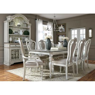 Magnolia Manor Rectangular Leg Table - Antique White