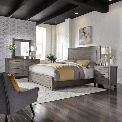 Modern Farmhouse 4-Piece Queen Bedroom Set