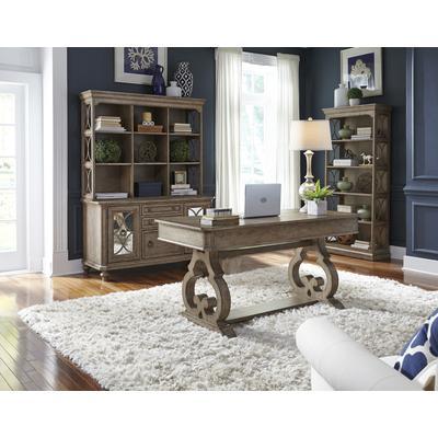 Simply Elegant 3-Piece Desk and Hutch Set