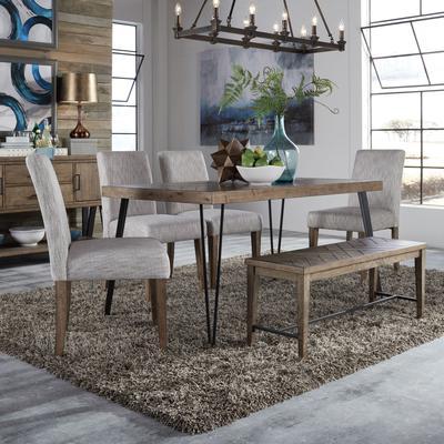 Horizons 6-Piece Rectangular Table Set