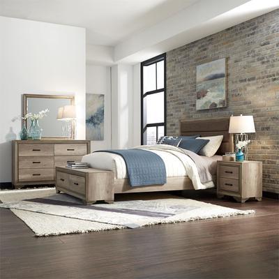Sun Valley 4-Piece Queen Bedroom Set