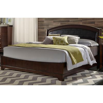 Avalon King Leather Bed