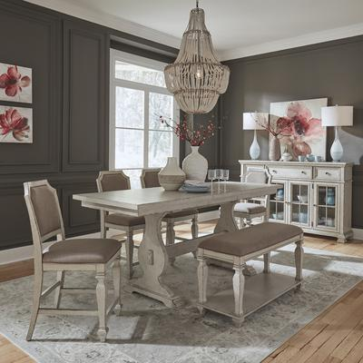 Low Country 6-Piece Gathering Table Set