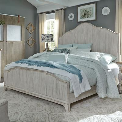 Farmhouse Reimagined King Panel Bed