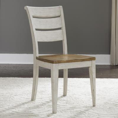 Farmhouse Reimagined Ladder Back Side Chair