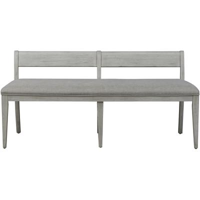 Farmhouse Reimagined Upholstered Bench