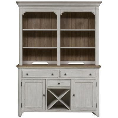 Farmhouse Reimagined Buffet and Hutch