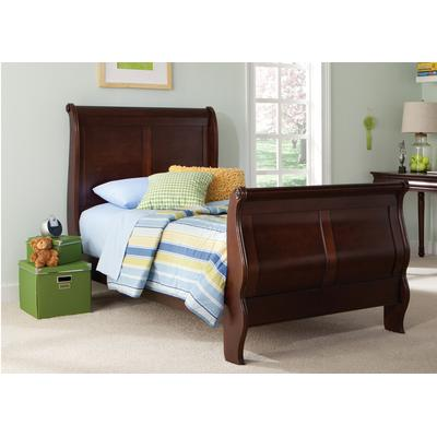 Carriage Court Twin Sleigh Bed