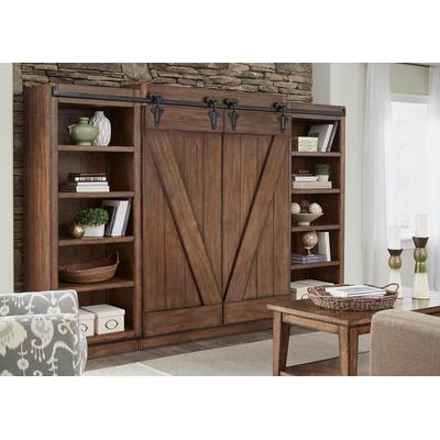 Lancaster II Entertainment Center with Piers