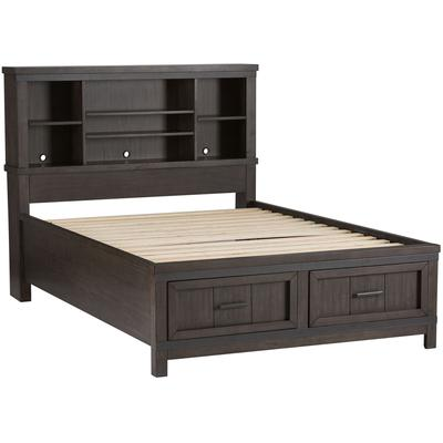 Thornwood Hills Full Bookcase Storage Bed