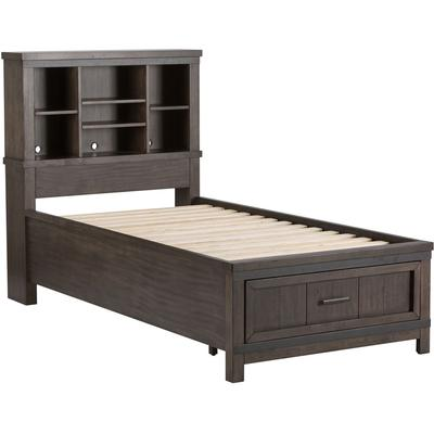 Thornwood Hills Twin Bookcase Storage Bed