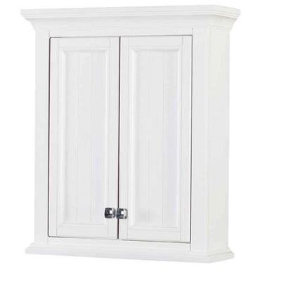 """Brantley 24"""" x 28"""" Wall Cabinet in White"""