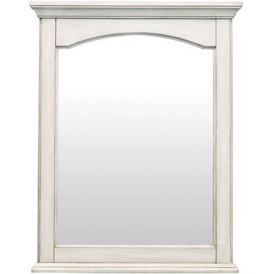 """Corsicana 24"""" x 30"""" Mirror in Antique White"""