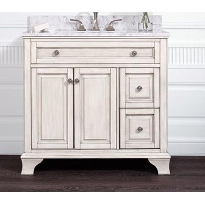 "Corsicana 36"" Vanity with Marble Top"