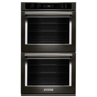 """30"""" Double Wall Oven with Even-Heat True Convection"""
