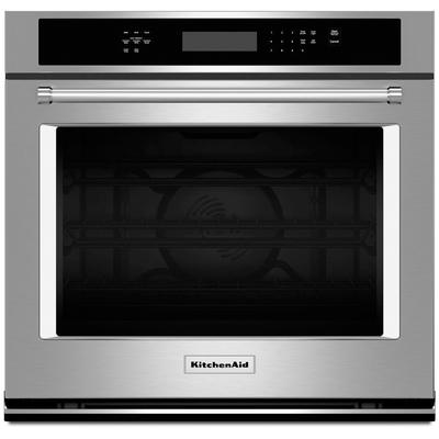 """30"""" Electric Single Wall Oven with Even-Heat True Convection"""