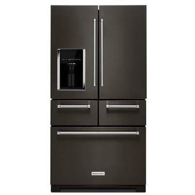 """25.8 cu. ft. 36"""" Multi-Door Freestanding Refrigerator with Platinum Interior Design"""