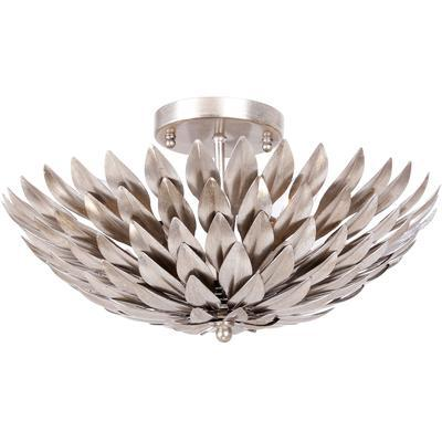 Broche 4-Light Ceiling Mount - Antique Silver