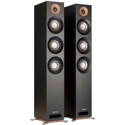 Studio S 809 Floorstanding Speaker - Black, Pair