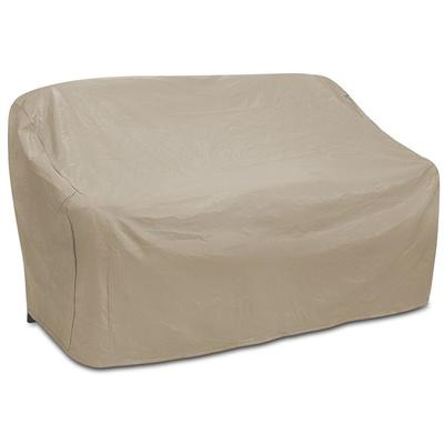Oversized 3-Seat Wicker Sofa Cover